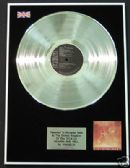 VANGELIS - LP Platinum Disc - HEAVEN AND HELL